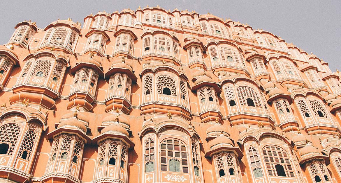 The Pink City, Jaipur, India